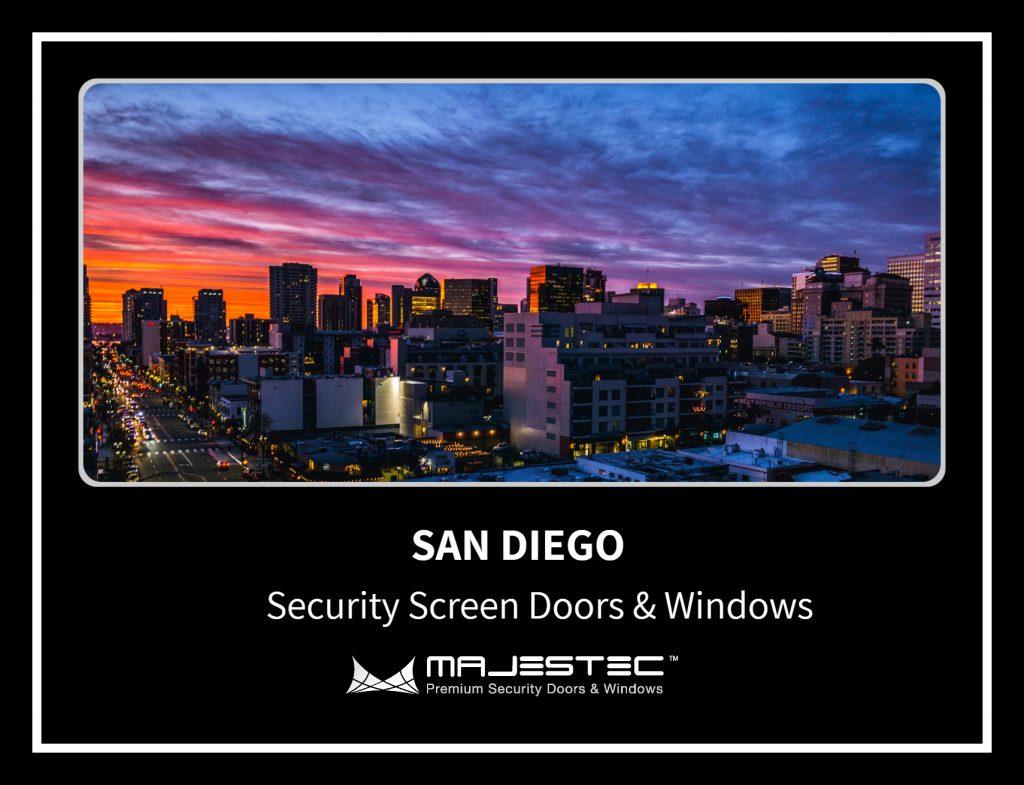 Security Screen Doors & Windows San Diego