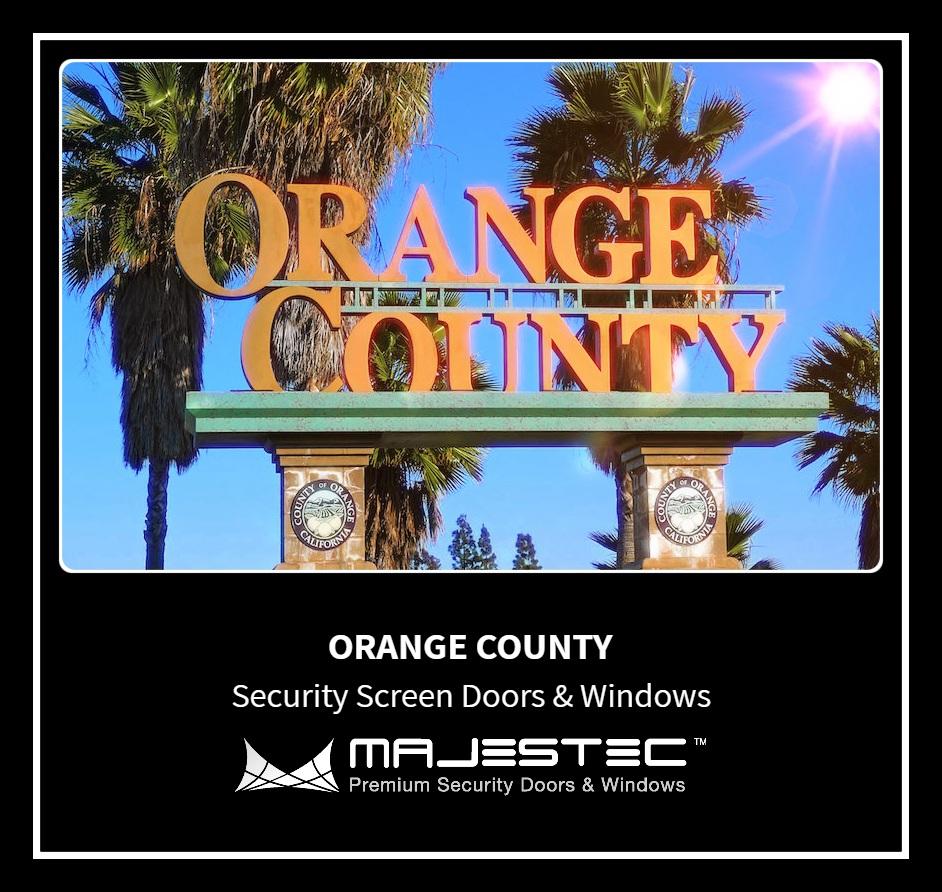 Majestec Premium Security Screens Orange County