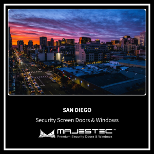 Security Screen Doors & Windows San Diego, CA