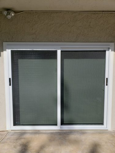 Security Screen Window