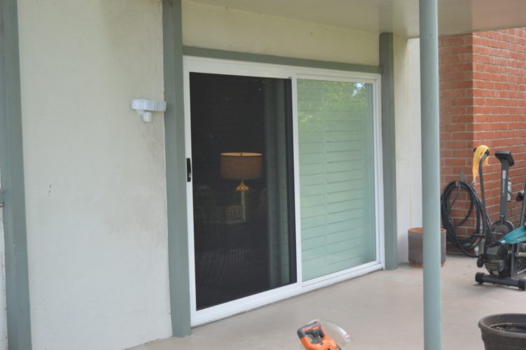 Security Screen Door for Sliders
