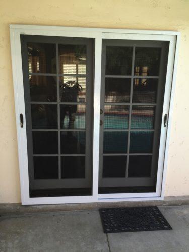Security Screen doors for sliders Palos Verdes