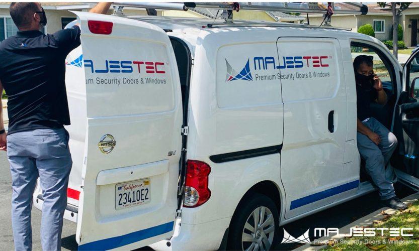 Majestec Premium Security Screens team at work